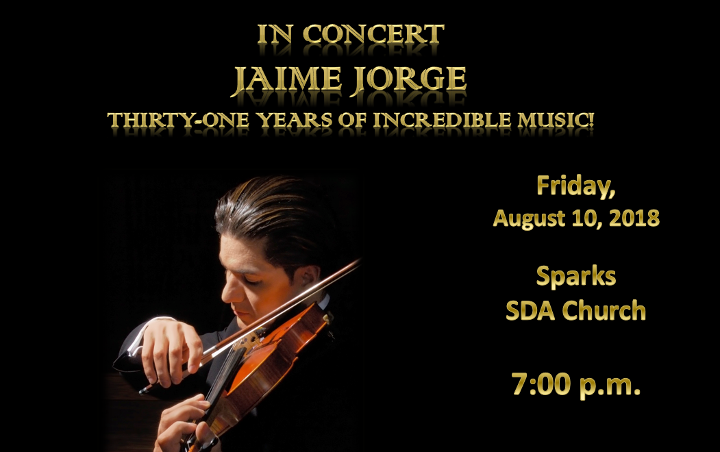 One Night Only!  Jaime Jorge